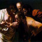 Caravaggio, De ongelovige Thomas (2)