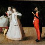 Hieronymus Francken, commedia dell'arte groep I Gelosi (8)
