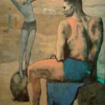 Picasso, Acrobaat op bal (1)
