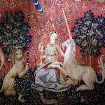 La Dame à la licorne ( tapijtkunst, eind 15e eeuw)