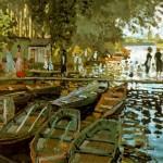 Monet, La Grenouillère (1869)