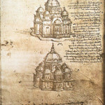 Leonardo da Vinci, studies van centraalbouw (3)