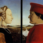 Piero della Francesca, portretten van Federico da Montefeltro en zijn vrouw Battista Sforza (1)